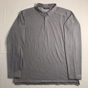 Arcteryx Men's Long Sleeve 1/3 Button Shirt Size XL
